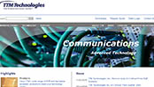 TTM Technologies Corporate Web Site